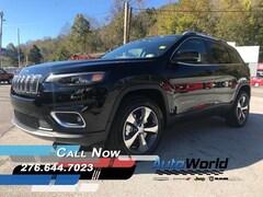 New 2019 Jeep Cherokee LIMITED 4X4 Sport Utility Big Stone Gap, VA