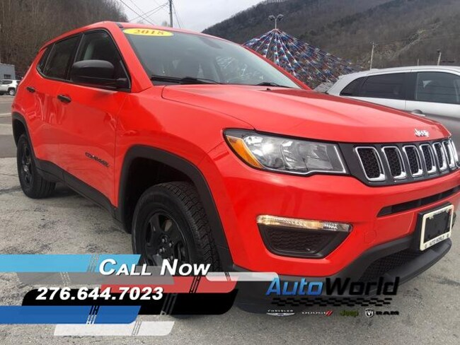 Used 2018 Jeep Compass Sport 4x4 SUV in Harlan, KY
