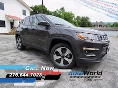 New 2017 Jeep Compass LATITUDE 4X4 Sport Utility for sale in Harlan, KY