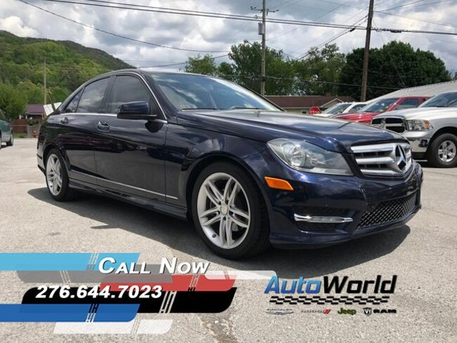 Used 2013 Mercedes Benz C Class Sedan For Sale In Big Stone Gapva