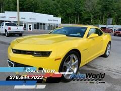 Used 2015 Chevrolet Camaro For Sale in Big Stone Gap, VA  | Auto World Chrysler Dodge Jeep