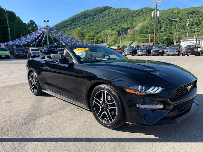 Used 2018 Ford Mustang Convertible in Harlan, KY