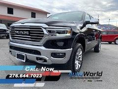 New 2020 Ram 1500 LARAMIE LONGHORN CREW CAB 4X4 5'7 BOX Crew Cab for sale in Harlan, KY