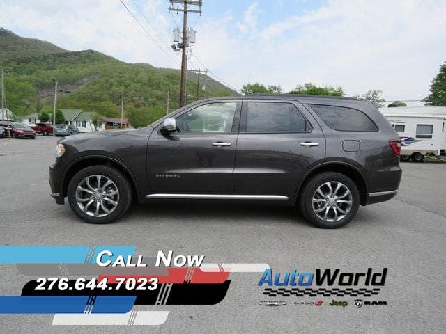 Featured New 2018 Dodge Durango CITADEL ANODIZED PLATINUM AWD Sport Utility for Sale in Big Stone Gap, VA