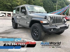 New 2018 Jeep Wrangler UNLIMITED SPORT 4X4 Sport Utility for sale in Harlan, KY
