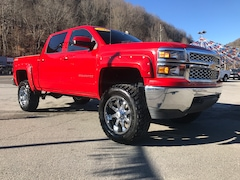 Used 2015 Chevrolet Silverado 1500 LT Truck Crew Cab for sale in Harlan, KY