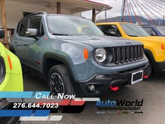 New 2017 Jeep Renegade TRAILHAWK 4X4 Sport Utility for sale in Harlan, KY