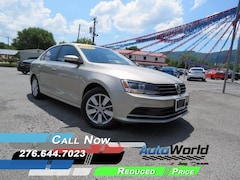 Bargain 2015 Volkswagen Jetta 2.0L TDI SE w/Connectivity Sedan for sale in Harlan, KY