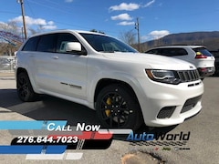 New 2018 Jeep Grand Cherokee TRACKHAWK 4X4 Sport Utility for sale in Harlan, KY