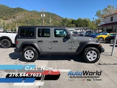 New 2020 Jeep Wrangler UNLIMITED SPORT S 4X4 Sport Utility for sale in Harlan, KY