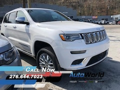 New 2018 Jeep Grand Cherokee SUMMIT 4X4 Sport Utility for sale in Harlan, KY