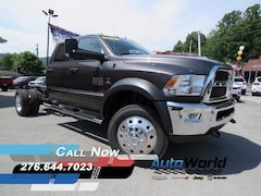 New 2017 Ram 5500 TRADESMAN CHASSIS CREW CAB 4X4 173.4 WB Crew Cab for sale in Harlan, KY