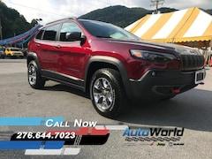 New 2019 Jeep Cherokee TRAILHAWK 4X4 Sport Utility Big Stone Gap, VA