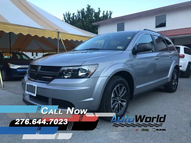 New 2018 Dodge Journey SE Sport Utility in Harlan, KY