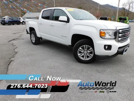 Featured Used 2019 GMC Canyon SLE Truck Crew Cab for Sale in Big Stone Gap  VA