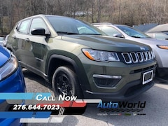 New 2018 Jeep Compass SPORT 4X4 Sport Utility for sale in Harlan, KY