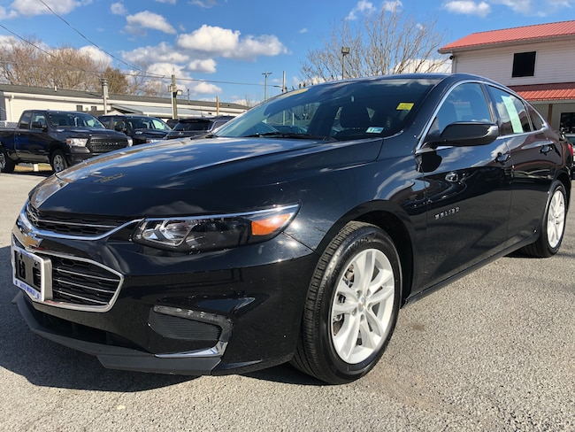 Used 2018 Chevrolet Malibu LT Sedan in Harlan, KY