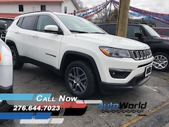 New 2018 Jeep Compass LATITUDE 4X4 Sport Utility for sale in Harlan, KY