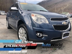 Used 2011 Chevrolet Equinox LTZ SUV for sale in Harlan, KY