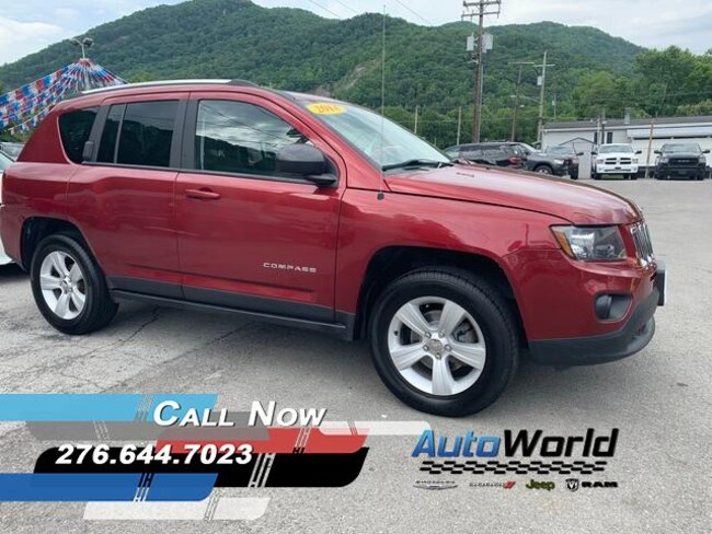 Used 2014 Jeep Compass Sport 4x4 SUV in Harlan, KY