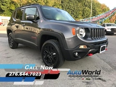 New 2018 Jeep Renegade TRAILHAWK 4X4 Sport Utility for sale in Harlan, KY