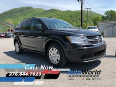 New 2018 Dodge Journey SE Sport Utility 3C4PDCAB0JT309833 for sale in Harlan, KY