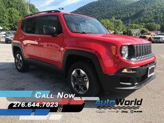 New 2018 Jeep Renegade SPORT 4X4 Sport Utility for sale in Harlan, KY