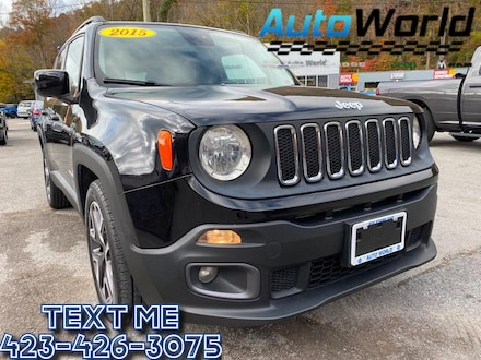 Featured Used 2015 Jeep Renegade Latitude FWD SUV for Sale in Big Stone Gap  VA