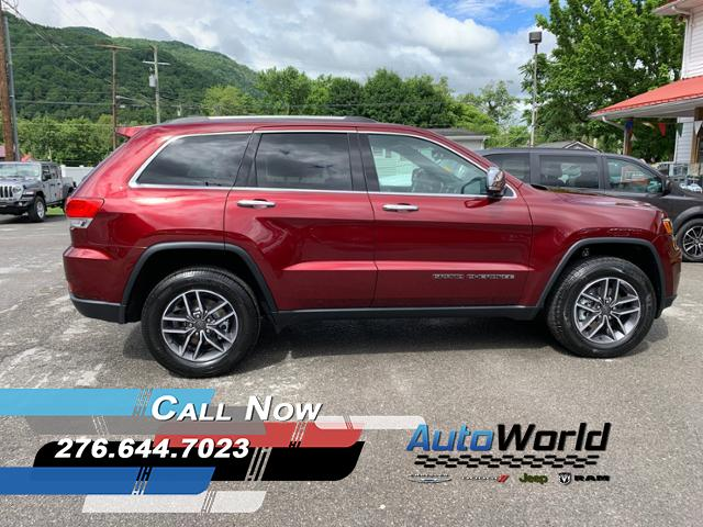 Featured New 2019 Jeep Grand Cherokee LIMITED 4X4 Sport Utility for Sale in Big Stone Gap, VA
