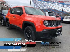 New 2017 Jeep Renegade SPORT 4X4 Sport Utility for sale in Harlan, KY