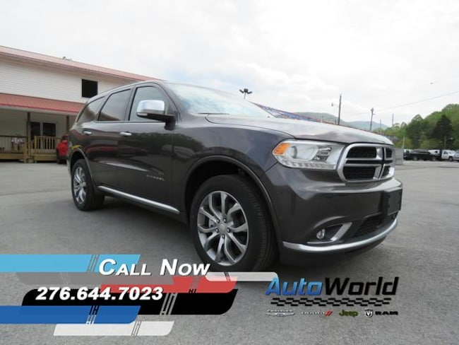 New 2018 Dodge Durango CITADEL ANODIZED PLATINUM AWD Sport Utility in Harlan, KY