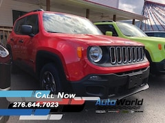 New 2018 Jeep Renegade SPORT 4X2 Sport Utility for sale in Harlan, KY