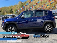 New 2020 Jeep Renegade TRAILHAWK 4X4 Sport Utility for sale in Harlan, KY