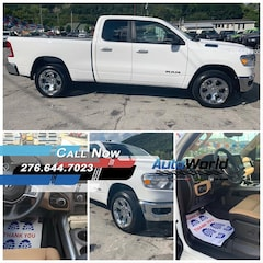 New 2019 Ram All-New 1500 BIG HORN / LONE STAR QUAD CAB 4X4 6'4 BOX Quad Cab for sale in Harlan, KY