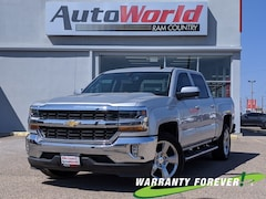 Used 2018 Chevrolet Silverado 1500 LT LT 2WD Crew Cab 143.5 for sale in Del Rio, Texas