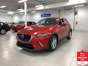 2016 Mazda CX-3 GS AWD LUXE - CUIR + TOIT + JAMAIS ACCIDENTE !!!