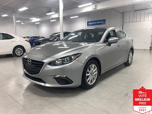 2015 Mazda Mazda3 GS - CAMERA + S. CHAUFFANTS + JAMAIS ACCIDENTE !!!