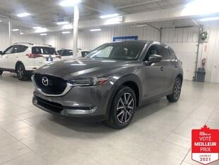 2017 Mazda CX-5 GT AWD - CUIR + TOIT + JAMAIS ACCIDENTE !!!