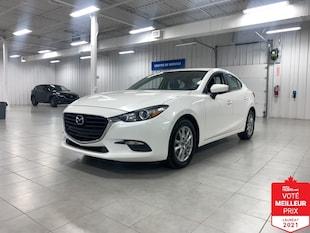 2017 Mazda Mazda3 SE - CUIR + CAMERA + JAMAIS ACCIDENTE !!!