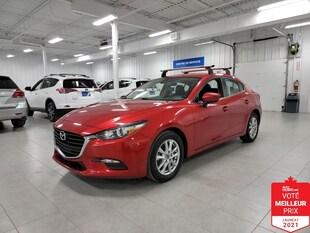 2018 Mazda Mazda3 GS - CAMERA + SIEGES CHAUFFANTS + JAMAIS ACCIDENTE