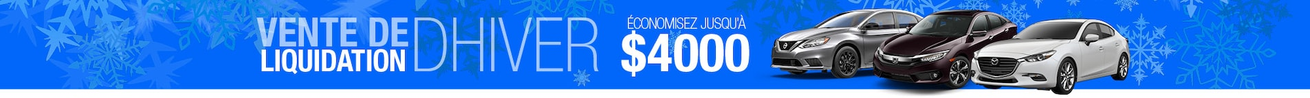Économisez jusqu'à $4000!