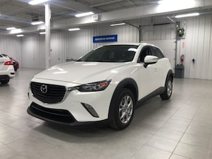 2017 Mazda CX-3 GS.L - CAMERA + CUIR + JAMAIS ACCIDENTE !!!