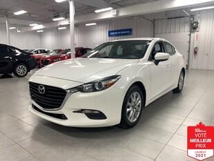 2017 Mazda Mazda3 GS - CAMERA + S. CHAUFFANTS + FINANCEMENT FACILE !