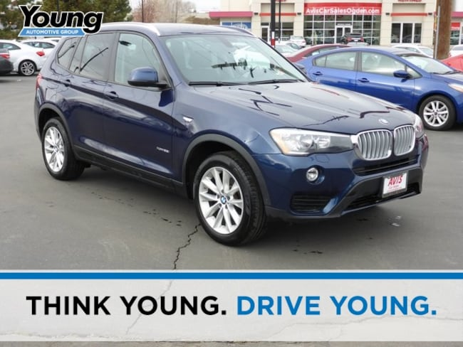 Used 2016 BMW X3 xDrive28i SAV for sale in Ogden, UT at Young Subaru