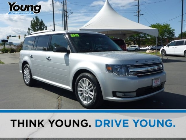 Used 2015 Ford Flex SEL SUV for sale in Ogden, UT at Young Subaru