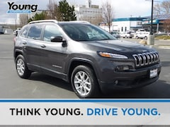 2017 Jeep Cherokee Latitude 4x4 SUV 1C4PJMCB1HW528011 for sale in Ogden, Utah at Young Subaru