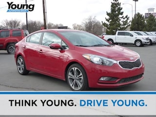 Used 2016 Kia Forte EX FWD Sedan KNAFZ4A83G5614689 for sale in Kaysville, Utah at Young Kia