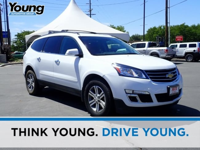 Used 2017 Chevrolet Traverse LT w/1LT SUV for sale in Ogden, UT at Young Subaru