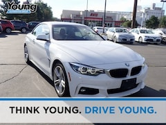 Used 2018 BMW 4 Series Convertible WBA4Z1C56JEC70388 for sale in Morgan UT at Young Chrysler Jeep Dodge Ram