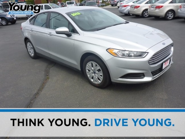 Used 2013 Ford Fusion S Sedan for sale in Ogden, UT at Young Subaru